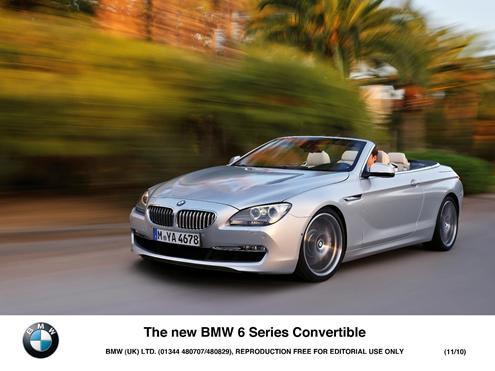 most expensive cars to insure - BMW 6 Series