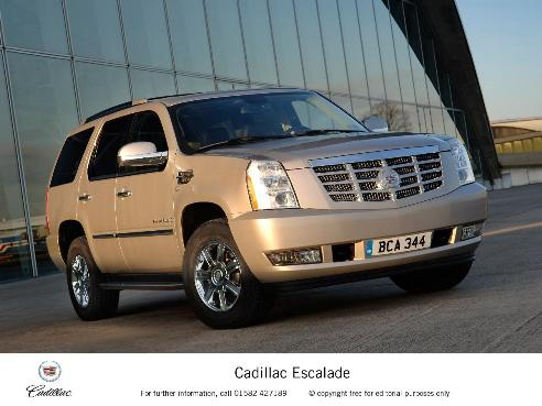 most expensive cars to insure - Cadillac Escalade