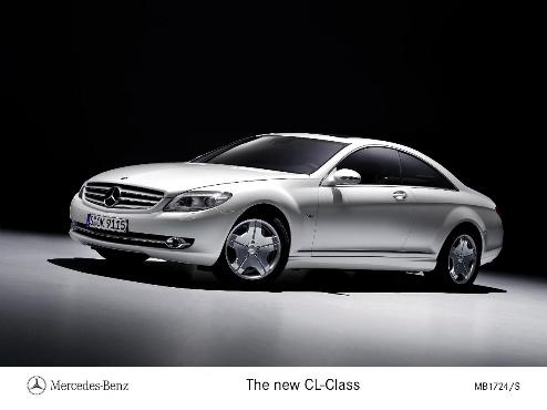 most expensive cars to insure - Mercedes CL-Class